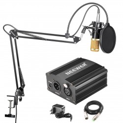 KIT MICROPHONE A CONDENSATEUR  NW-800