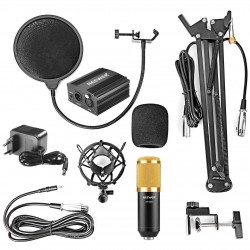 Kit Microphone à Condensateur NW-800