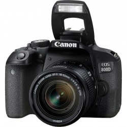 REFLEX CANON EOS 800D KIT18-55mm IS STM + OBJECTIFEF-S 18-55 mm IS STM