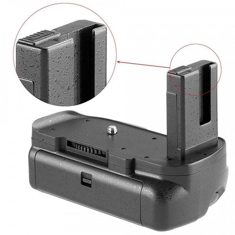 Grip Pro pour Nikon D5100, D5200, D5300