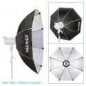 Softbox Parapluie Octogonale 90cm