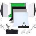 Kit Éclairage Studio en lumière continue