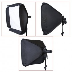SOFTBOX POUR FLASH SPEEDLITE NEEWER 40X40 CM