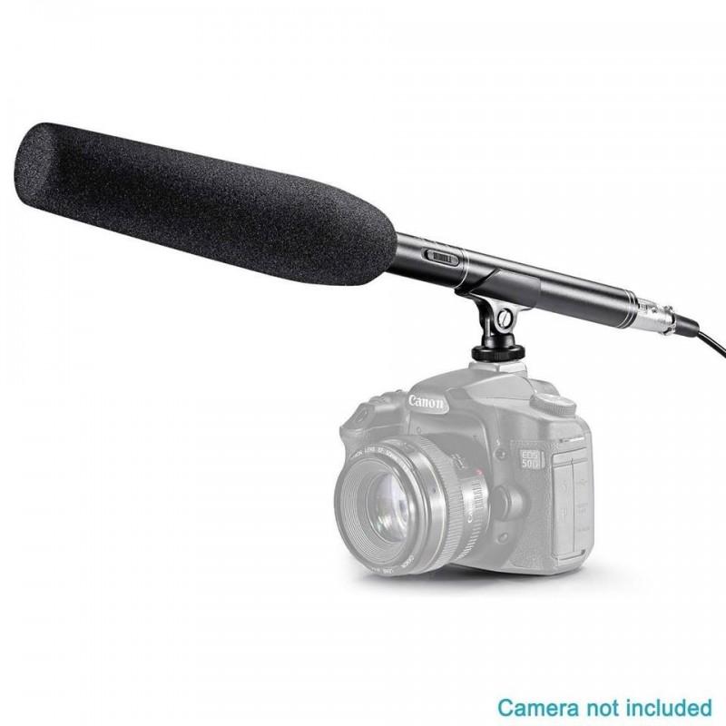 Microphone Professionnel Caméra