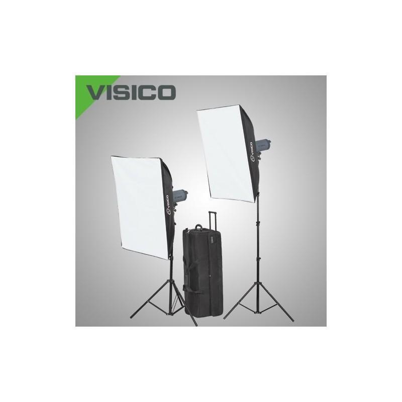 Kit Flash Studio VISICO 300W