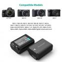 Pack de chargeur et 2 Batteries NP-FW50