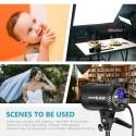 Projecteur LED Studio SL-60W - Lumière Blanche 5600K,60W CRI 95+ Lumière vidéo: version blanche SL-60W
