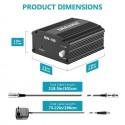 Alimentation Fantôme avec Adaptateur et Un XLR Câble Audio
